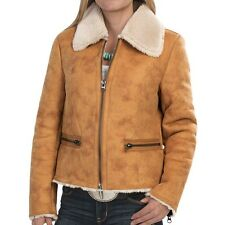 dylan Distressed Cabin Coat-Faux Shearling (For Women)