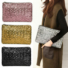 Sparkling Sequins New Fashion Bling Clutch Evening Party Bag Handbag Womens Tote