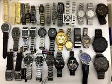 36 WATCHES - OF VARIOUS TYPES - FOR PARTS OR NOT WORKING