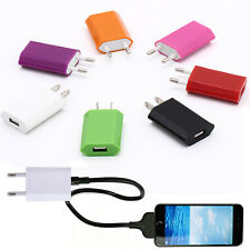 ALL New Brand Usb Eu Wall Charger Plug 5V Ac Power Adapter For Iphone 6 Xiaomi