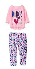NWT 2-Pc Baby Girls Gymboree Love to Dance Heart Outfit 6-12 12-18 18-24 Months