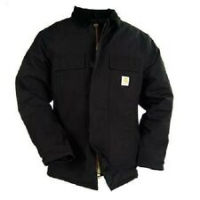CARHARTT #C03 DUCK ARCTIC QUILT LINED BLACK WINTER COAT JACKET Various Sizes