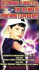 Pokémon Becoming A Master The Ultimate Experience VHS Video 2 Tapes