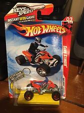 2010 Hot Wheels Sand Stinger With Keychain Keys To Speed