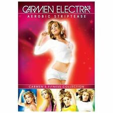 Carmen Electra  Aerobic Striptease Exercise Fitness 5 DVD Set