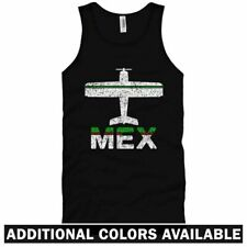 Fly Mexico City MEX Airport Unisex Tank Top - DF Mexican MX - Men / Women - S-2X