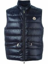New Spring/Summer 2017 Moncler Gui quilted down gilet/bodywarmer - Navy
