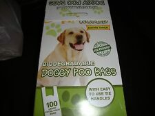 All Qty Fragrance Dog Doggy Poop Pooh Poo Pet Bags Waste Biodegradable 1-2000