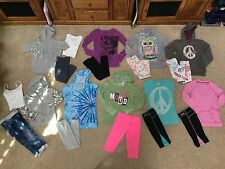 Justice Girls Outfis Leggins jeans Hoodies FILA girls activewear pants GAP shirt