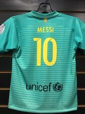 Barcelona Away Messi # 10  Soccer Set  Kids