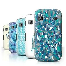 STUFF4 Back Case/Cover/Skin for Samsung Galaxy Gio/S5660/Teal Fashion