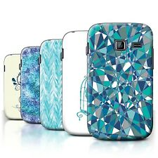 STUFF4 Back Case/Cover/Skin for Samsung Galaxy Y Duos/S6102/Teal Fashion