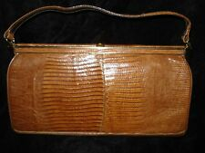 Vintage 1950's 1960's Genuine Alligator/Crocodile Purse