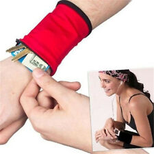 New Arrived Outdoor Wrist Band Safe Wallet Storage Zipper Ankle Wrap Sport Strap