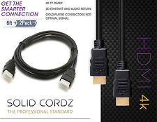 Slim Flexible HDMI Cable 6FT-High-Speed Supports 3D, Ethernet, 1080P Audio Video