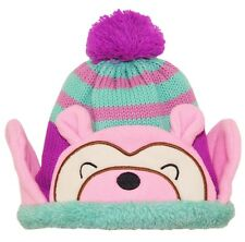 Wippette Toddler Girls Winter Polar Sweater Sherpa Lined Combo Hat