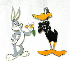 Warner Bros. Studio Store Wall Hanging Bugs Bunny & Daffy Duck Wood Plaques