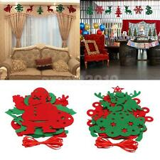 Christmas Party Home Shopping Wall Pennant Hanging Banner Bunting Flag Decor