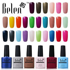 Belen Lacquer Colour Gel Soak-off Nail Polish UV LED Top Base Coat Manicure New