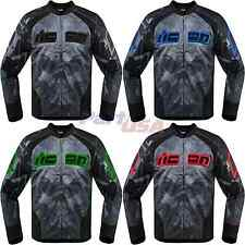 Icon Overlord Reaver Jacket Sport-Riding Textile Skull Vented