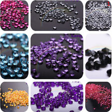 5000pcs Diamond Confetti Table Scatters Clear 4.5mm Wedding Party Decor 3