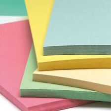 Recycled A3 Pastel Card 5 Shades of 180gsm Recycled Pastel Card Stock
