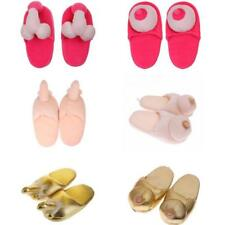 Novelty Willy Penis Boob Boobie Slippers Adult Gift Hen Party Joke Shoes Gift