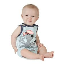 Mud Pie PIRATE OCTOPUS ROMPER Size 0-6M # 1032344