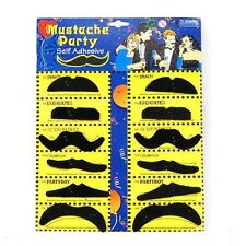 Self adhesive Assorted Fake Moustache Mustache Fancy Dress Party Wholesale Price