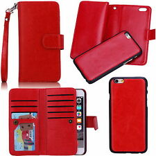 For Iphone 5G 5S/6G/6 Plus New Multifunction Leather Wallet Card Slot Case Cover