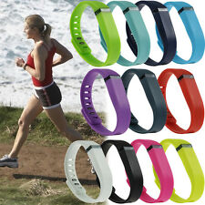 Large/Small Replacement Fitbit Flex Bracelet Sports Tracker Wristband Strap Band