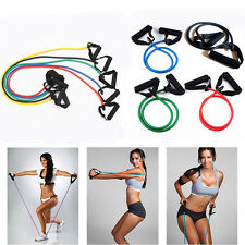 HOT Exercise Resistance Band Elastic Latex Tube FIT for Gym Yoga Fitness Workout
