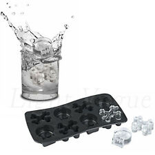 Cool Silicone Tray Mould Ice Molds Mold Cube Bar Party Jelly Maker Skull New