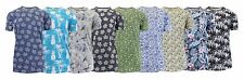 Men's Short Sleeve Printed Inspired Shirt Tee for Layering Lounging