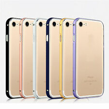 Durable Metal Aluminum Frame + Back Case Cover Skin Protector For iPhone 7