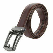 New Comfort Click Belt Leather Automatic Lock Buckle for Men As Seen on TV
