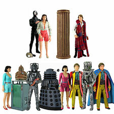 """DOCTOR WHO CLASSIC LOOSE 5"""" 5th and 6th DOCTOR ERA FIGURES - Choose from list"""
