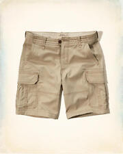 NWT Hollister by Abercrombie & Fitch Mens Shorts Cargo Classic Fit - Size 32