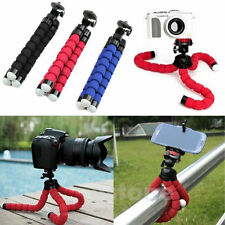 Octopus Tripod Stand For Digital Camera + Holder For Mobile Phone Samsung iPhone