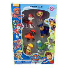 Set of 6 pcs Boxed Paw Patrol Action Pack Pup dog backpack projectile toys STOCK
