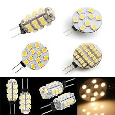 10x G4 9/12/15/24/25/26 SMD 12V Warm White LED Spot Light Bulb Lamp RV Boat