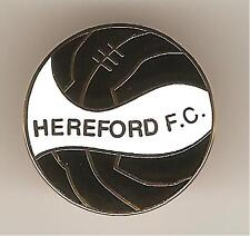 HEREFORD FC ( NOT UNITED ) FOOTBALL BADGE ( S )