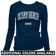 Ocean Beach San Diego Women's Long Sleeve T-shirt - LS S-2X - Gift SD California