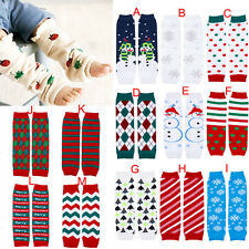 Stock Baby Toddler Girl's Boy's Soft Leggings Warmer Leg Warmers Knee Long Socks