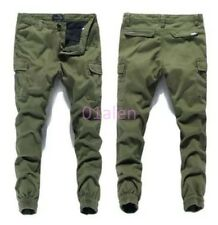Stylish Mens Skinny Casual Cargo Overalls Baggy Pants Chic Closed foot trousers