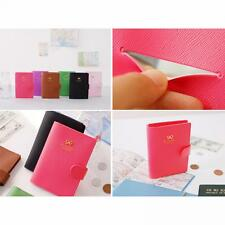 Gift Fashion Bow Crown E-Passport Cover Protect Passport Case Holder