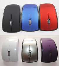 2.4Ghz Wireless Arc Folding Optical Scroll Wheel Mouse Mice For PC Laptop