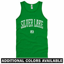 Silver Lake Los Angeles Unisex Tank Top - Men Women XS-2X - Gift LA Indie Rock