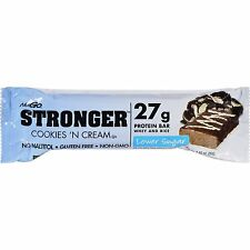 Nugo Nutrition Bar - Stronger Cookies N Cream - 2.82 Oz - Case Of 12 2 Pack