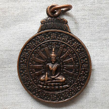 Powerful Genuine Thai Amulet Pendant Buddha Phra LP. Somdej Toh Talisman Wealth